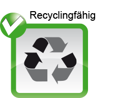 Icon Recyclingfähig